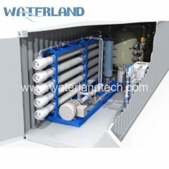 Containerized Seawater Desalination Systems
